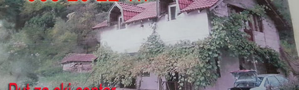 Na prodaju kuća sa dozvolom i strujom u Crnom vrhu